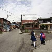 Niña resultó herida durante enfrentamiento en Medellín