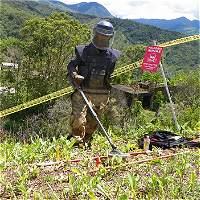 Según Gobernación, hay riesgo de minas en el 70% de Antioquia
