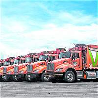 Emvarias estrena flota de carros a gas