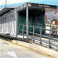 Adecuaciones físicas en estación San Pedro no han comenzado