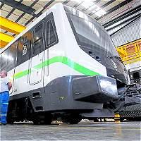 Primer tren de nueva flota ya partió hacia Colombia