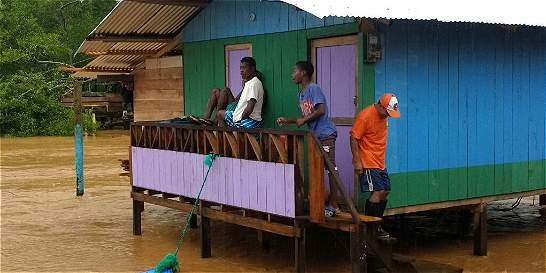 Nueva emergencia invernal en el Chocó dejó 1.600 damnificados