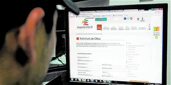 Aumenta número de citas médicas mediante internet en Medellín