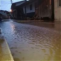 Casi 450 familias fueron afectadas por inundaciones en Juradó, Chocó