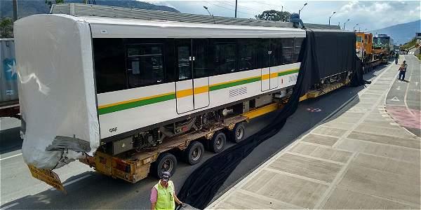 Nuevo tren del metro Medellín comenzará operación en diciembre