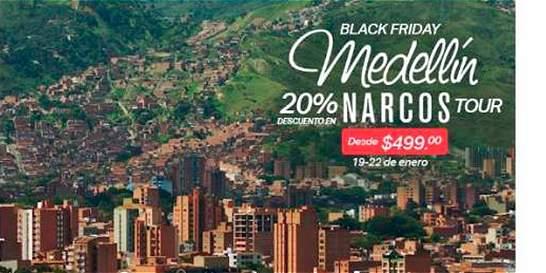 Alcalde de Medellín rechaza paquete turístico con alusión a narcos