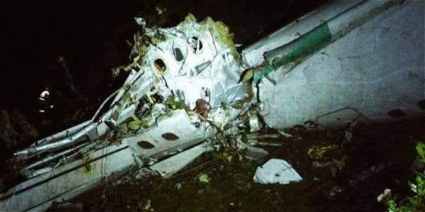 El sitio del accidente es un lugar escarpado y de difícil acceso por aire, conocido como Cerro Gordo en el municipio de La Unión, en el oriente de Antioquia.