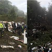 Imágenes: la tragedia en Antioquia que enluta al mundo del fútbol