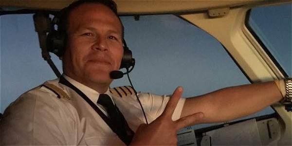 Miguel Alejandro Quiroga Murakami, piloto del avión que sufrió el accidente en Antioquia.