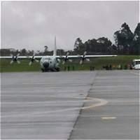 Aterrizó primer avión para repatriar los cuerpos del accidente aéreo