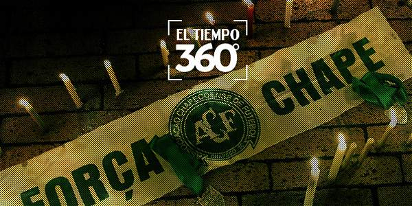 EL TIEMPO 360º: el minuto de silencio en el Atanasio por Chapecoense