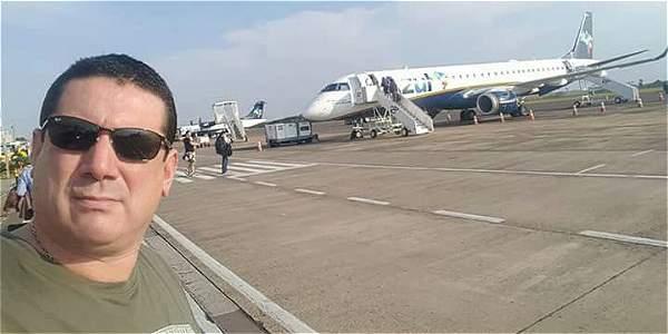 Encina hacía parte de la tripulación del avión LaMia.