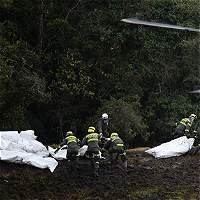 Caos, niebla y lodo: así fue el rescate de los heridos del avión