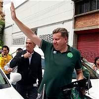 Emotivo recorrido del alcalde de Chapecó por zona del siniestro