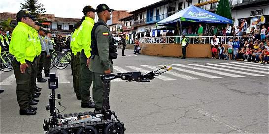 Policía  lanzó plan de seguridad para época navideña en Antioquia