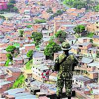 Los combos son la 'justicia' en barrios populares de Medellín