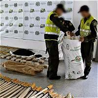 En Antioquia han incautado 10 toneladas de pólvora