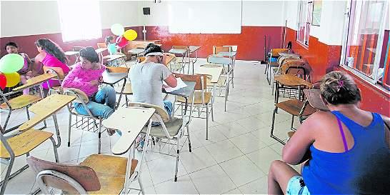 'Ya no hay cómo sacar a los niños del aula'