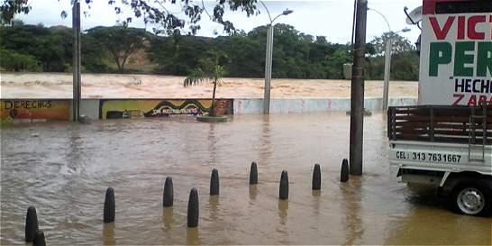 Lluvias ocasionan un tercio de las alertas en Antioquia