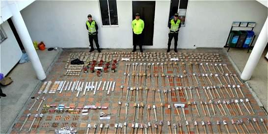 Incautada una tonelada de pólvora en Marinilla, Antioquia