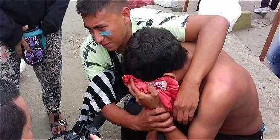 Unos 42 heridos dejó el quinto día de desalojos en Bello, Antioquia
