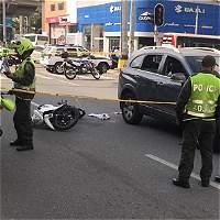 Alarma en Medellín por asaltos en motos