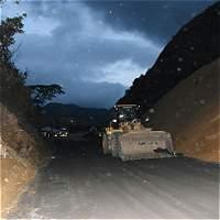 Habilitan paso temporal en la vía Medellín-Bogotá