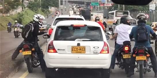 Recapturan a los tres asaltantes captados en video en Medellín