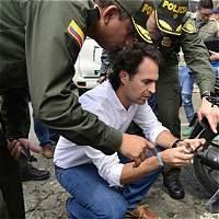 Críticas al Alcalde de Medellín por manejo del viral caso de atraco
