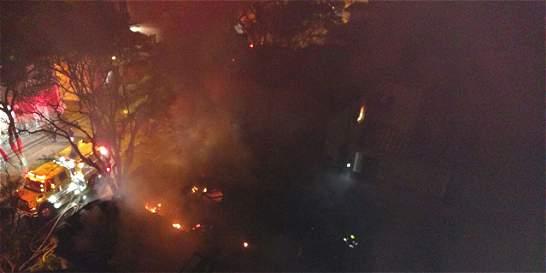 Apagan incendio en una casa en Prado centro
