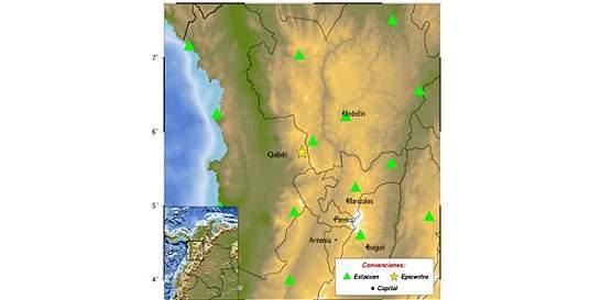 Sismo de magnitud 4,7 se sintió en Medellín y Eje Cafetero