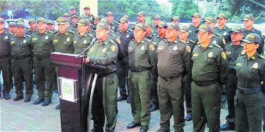 Comandantes de Policía se reúnen en Medellín para hablar de seguridad