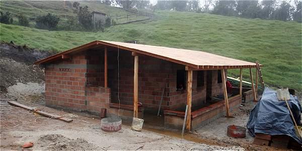 Construccion de la casa familia Ramirez