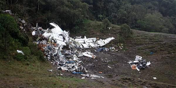 Accidente avión LaMia