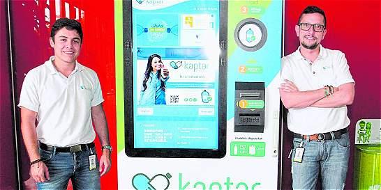 'Kaptar' permitirá con botellas pagar cuentas de servicios públicos