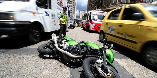 A pesar de campaña, accidentalidad en Medellín no baja