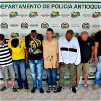 Capturan a presuntos miembros del Clan del golfo y el Eln en Antioquia