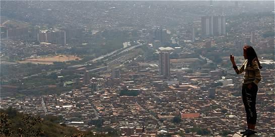 Alerta naranja por contaminación atmosférica en el valle de Aburrá