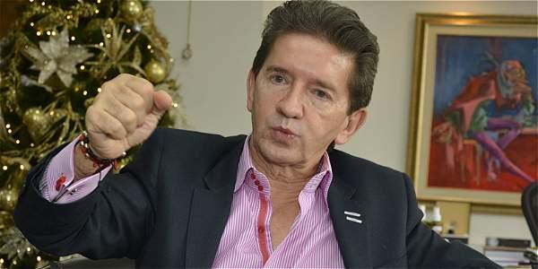 Luis Pérez, gobernador de Antioquia.