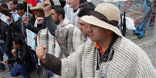 Labriegos del Catatumbo y Magdalena marcharán en Santander
