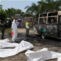 Detenido conductor de bus que causó tragedia en Fundación, Magdalena