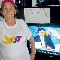 Así vive la abuela que le dio un empujón publicitario al Presidente