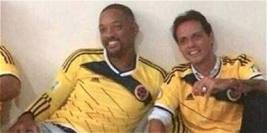 Will Smith y Marc Anthony apoyaron a la Selección