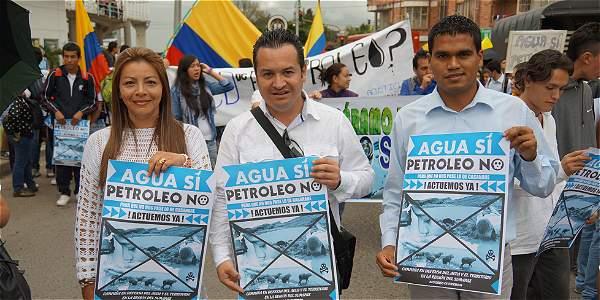 En Sumapaz buscan firmas para decirle 'no al petróleo'