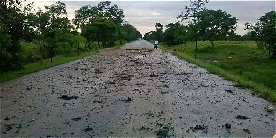 Ocho militares heridos en ataque de la guerrilla en Fortul (Arauca)