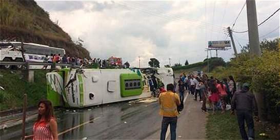 Las 10 carreteras con más accidentes en el país