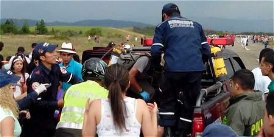 Un hombre murió en San Gil tras ser impactado por una avioneta