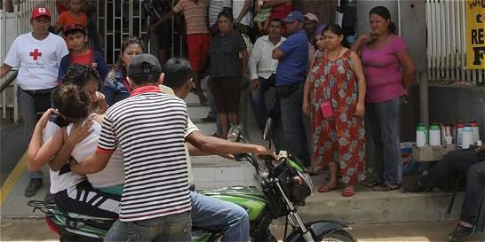 La angustia se apodera de padres de familia en El Carmen de Bolívar