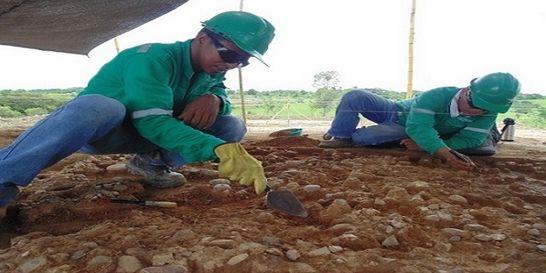 Hallazgo arqueológico en campo petrolero en Santander