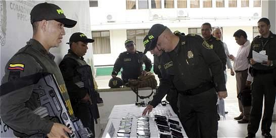 Cae red de extorsión en cárcel de Montería